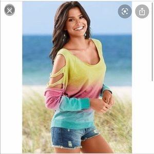 Venus Multi-Slit Sweatshirt